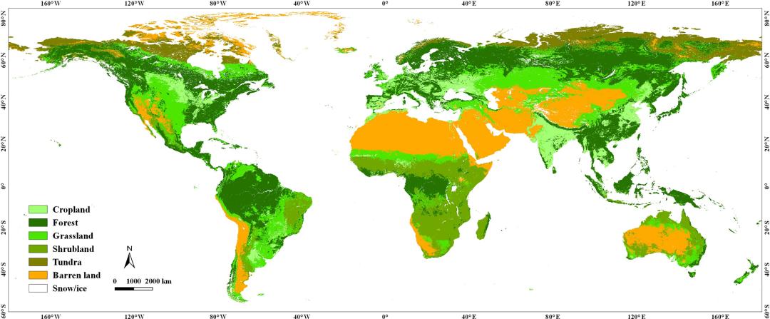 土地覆盖数据(清华大学)